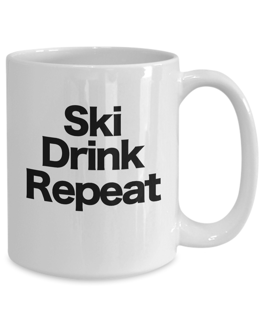 Details about  /Ski Coffee Mug Funny Gift for Sun Bum Bunny Patrol Instructor Water Snow skidoo