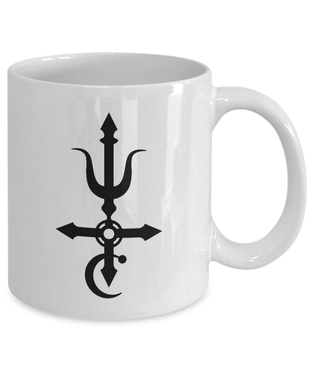 Antimony Symbol Mug Azazel Witchcraft Alchemy Gift