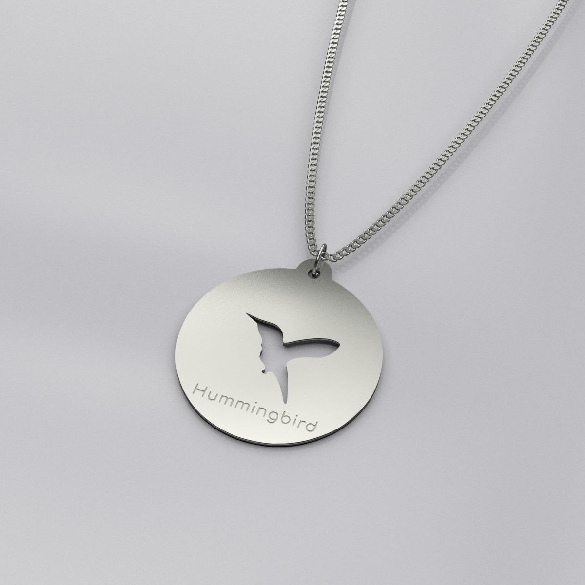 Pendant still silver plated
