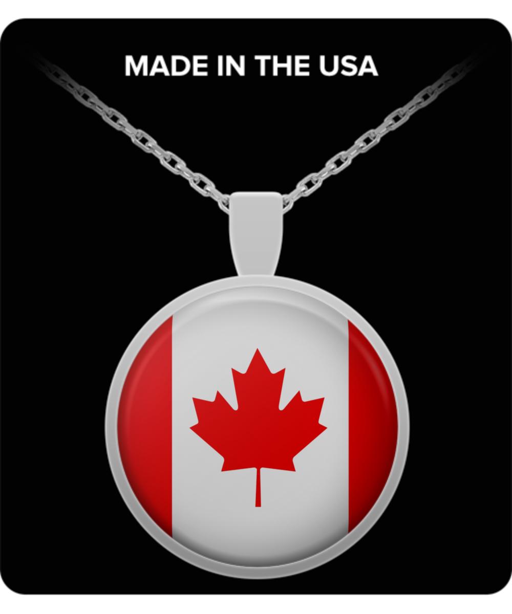 CANADA FLAG Necklaces