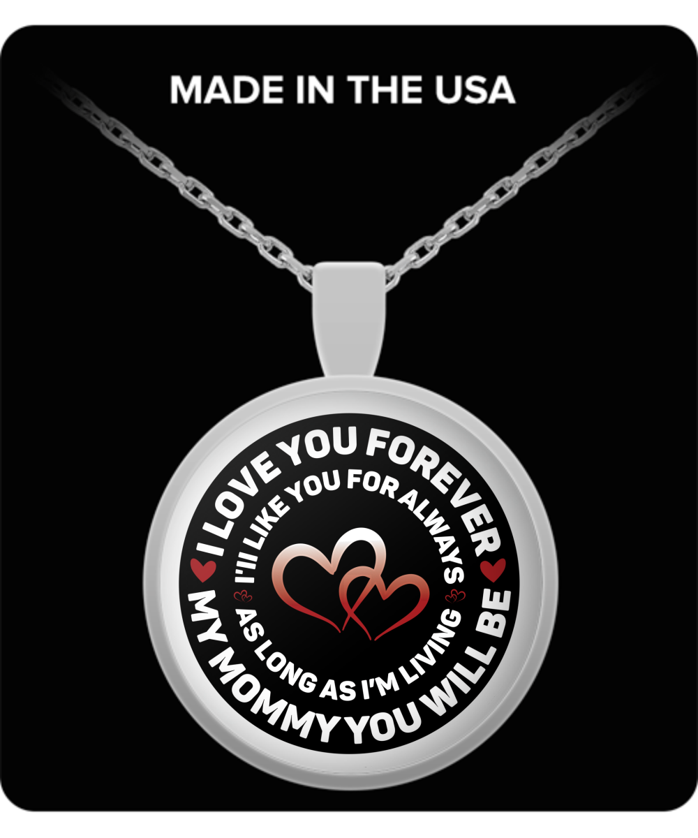 To my mommy pendant necklace gift gearbubble campaign aloadofball Image collections