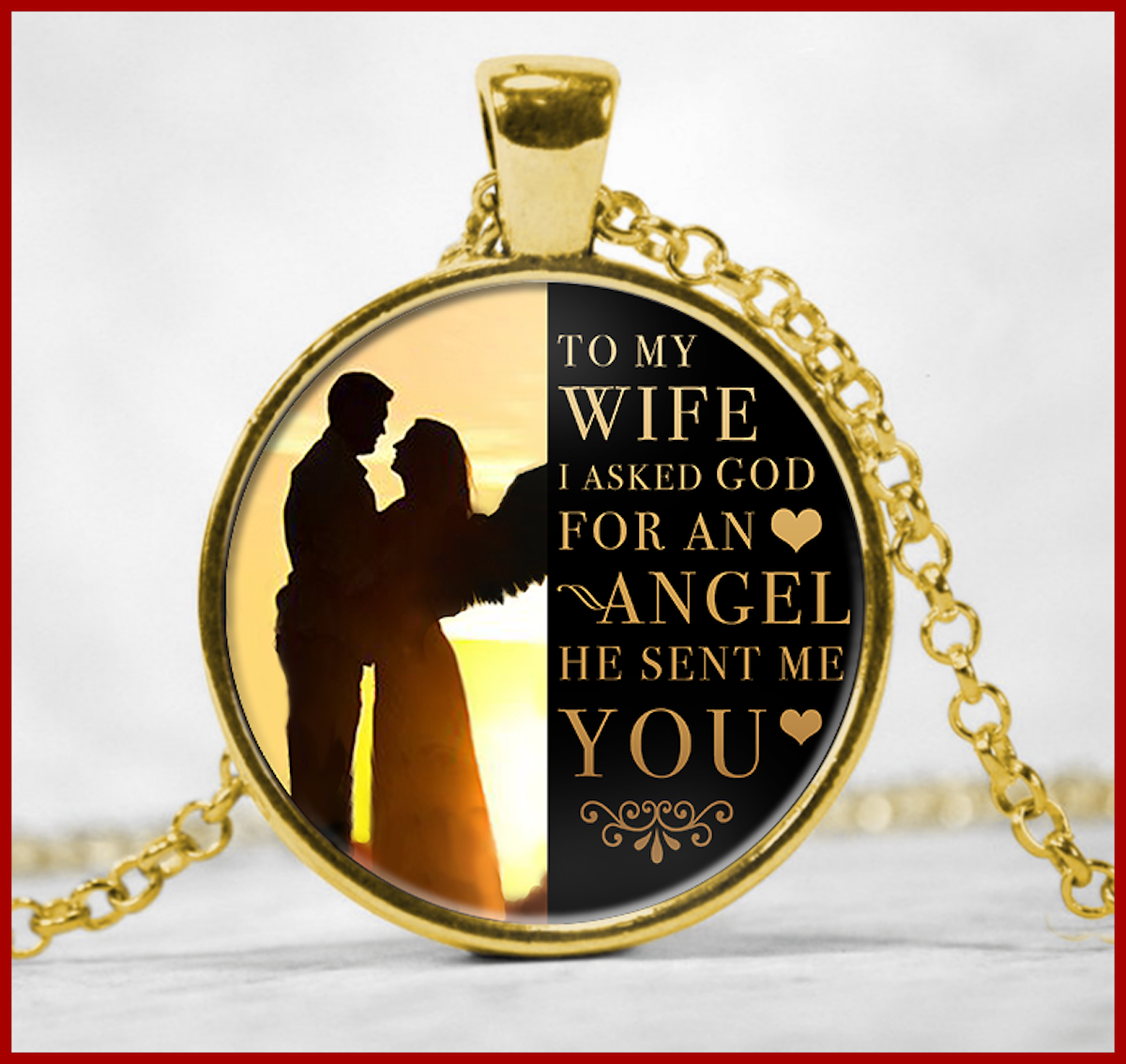 To My Wife - God Sent Me You-4537