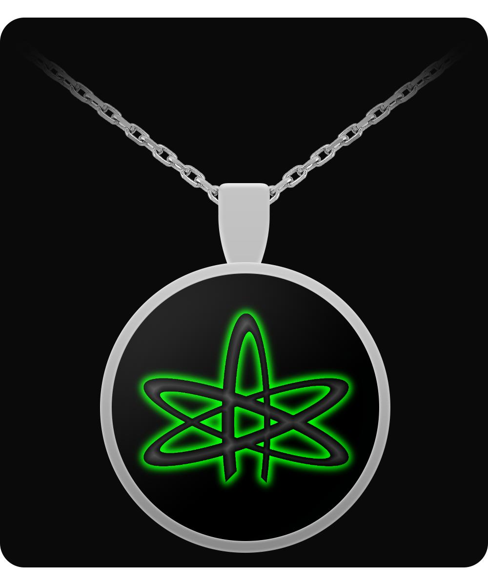 Atheist Atom Necklace