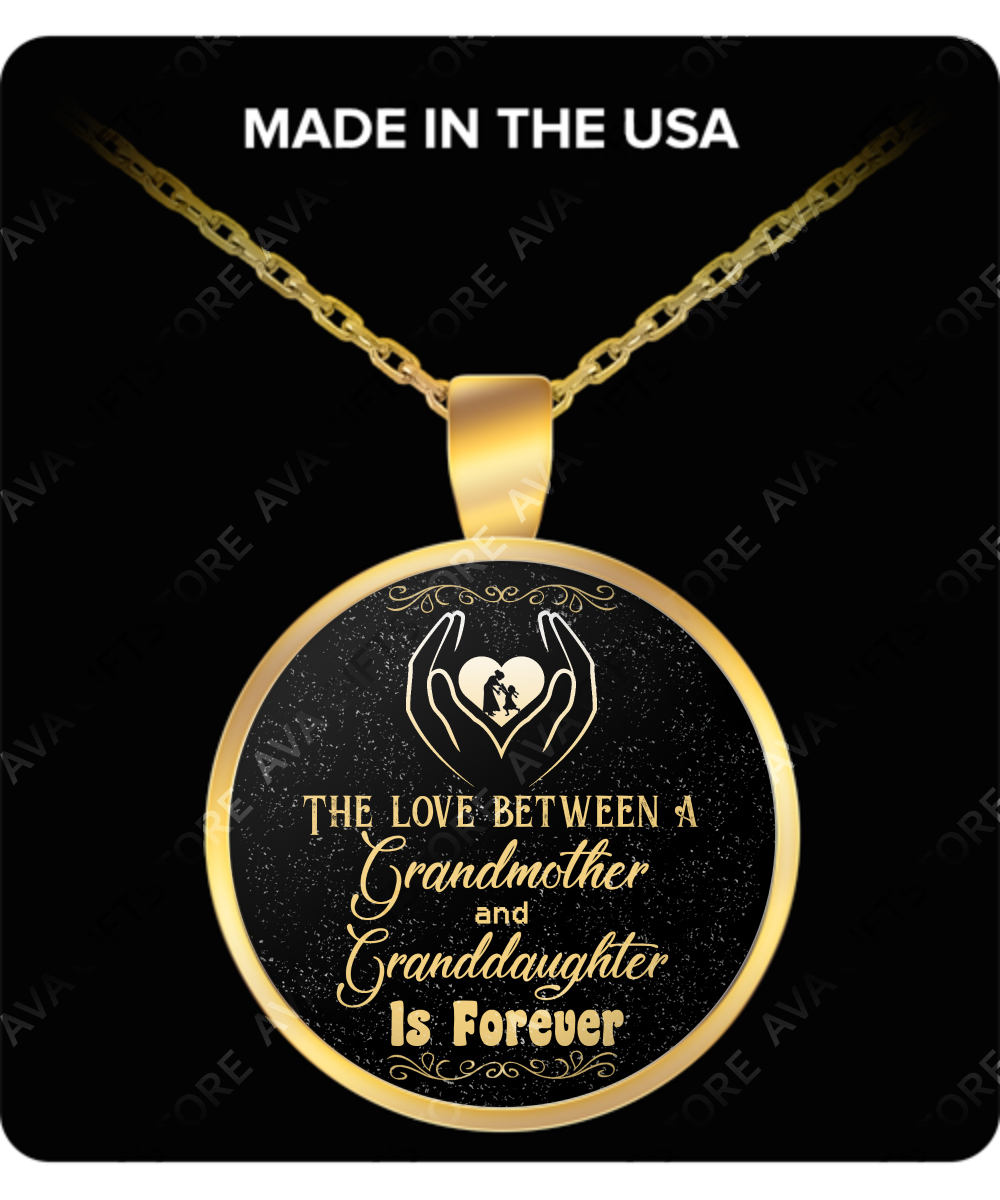 To My Granddaughter Birthday Gifts For Best Special Necklace Grandmother And