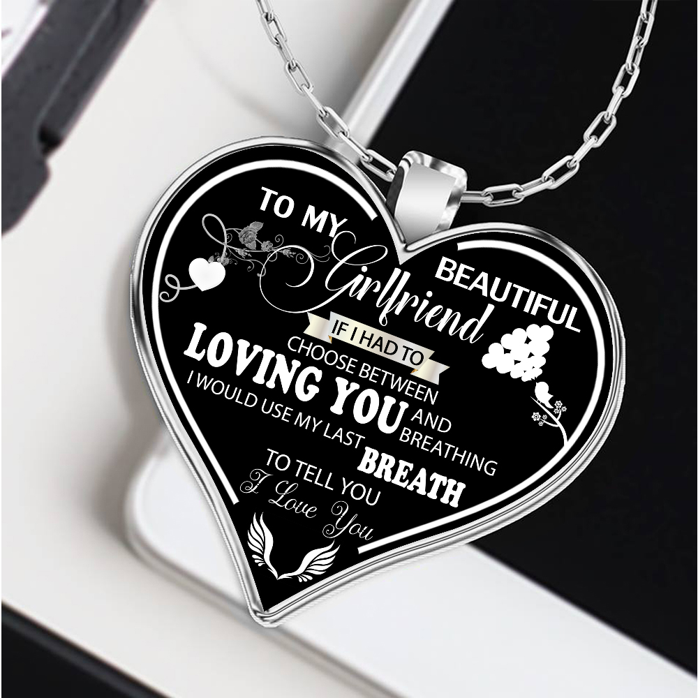 to my girlfriend necklace, girlfriend necklace, best gifts for ...