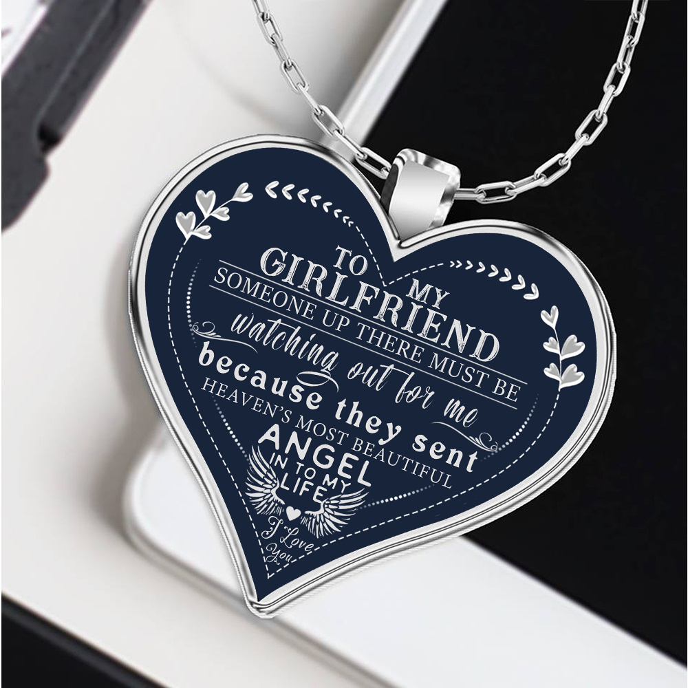 To My Girlfriend Necklace For Best Gift Birthday Gearbubble Campaign