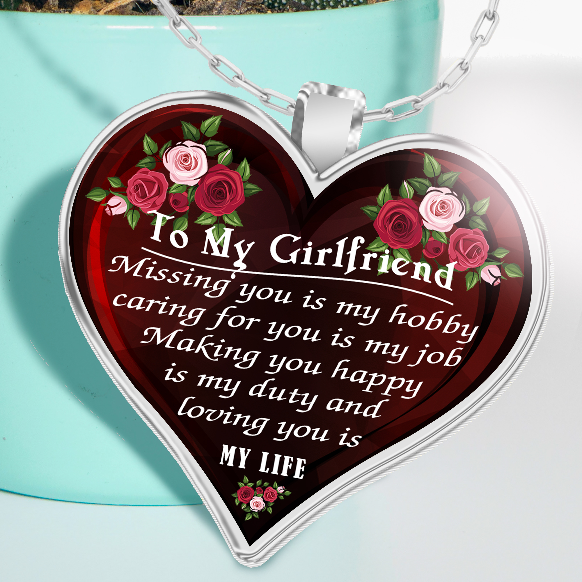 To My Future Girlfriend Birthday Gifts For Her Front