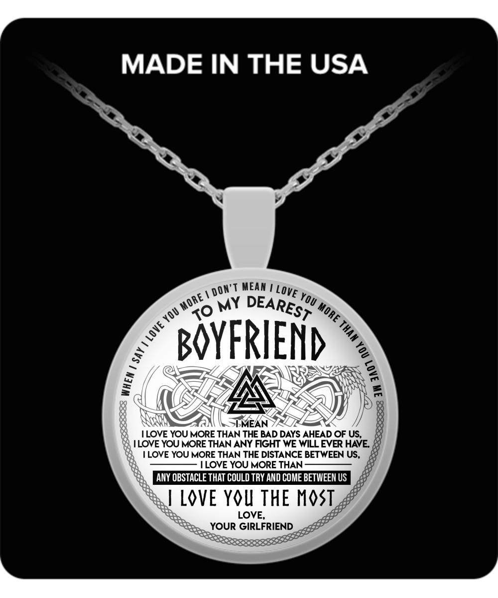Boyfriend, boyfriend necklace, to my boyfriend necklace, necklace for boyfriend, birthday gifts for boyfriend, best gifts for boyfriend, birthday gifts for ...