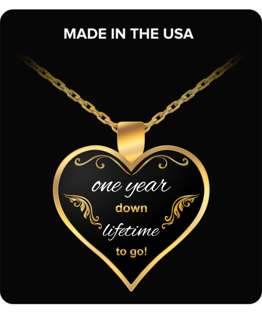 gallery in years calligraphy brevity pendant anniversary gold metallic product lyst necklace jewelry normal