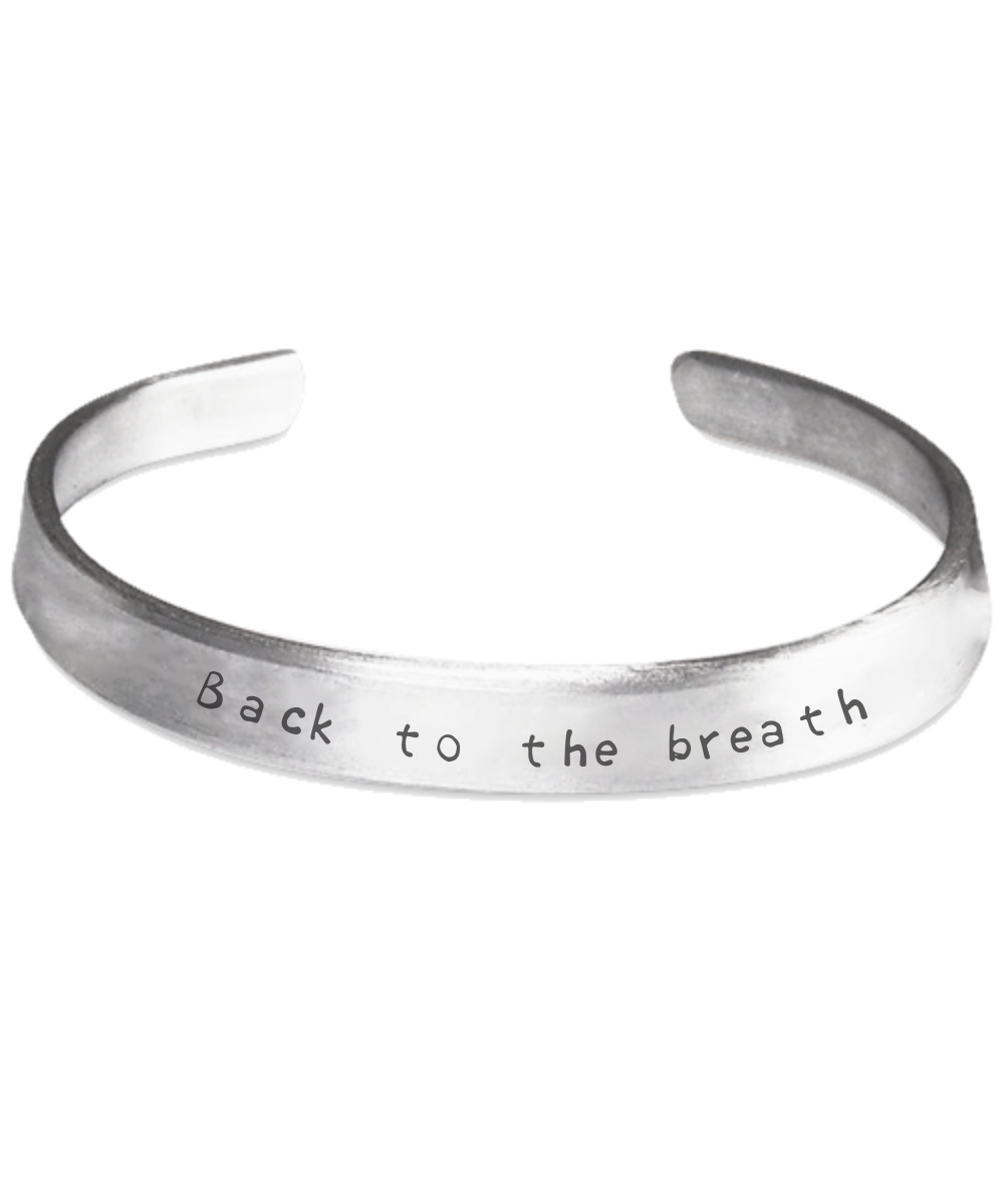 Click here to purchase your own Back To The Breath Mindfulness Meditation bracelet now