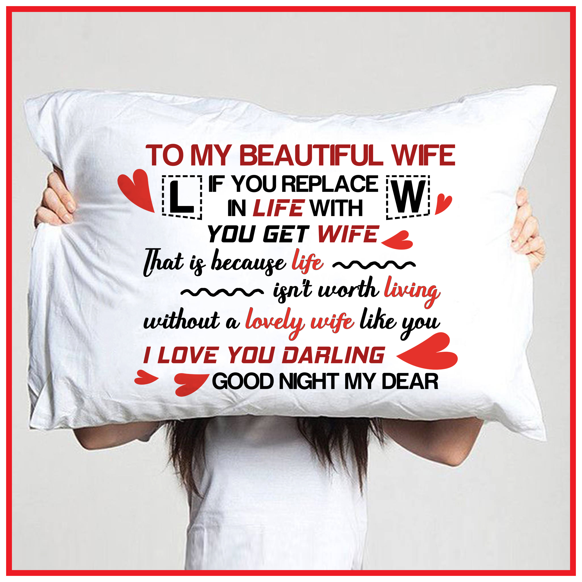 I beautiful love you wife to my Poem To