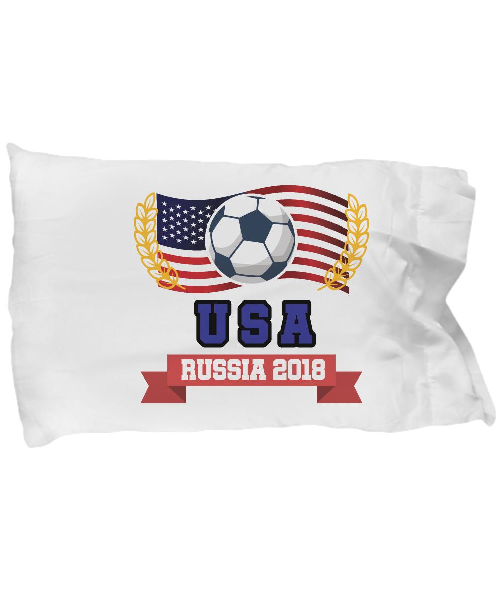 c7904eaba2e Cute Pillow Covers Design USA Soccer Jersey 2018 - USA Football Gift Pillow  Cover Ideas: Gearbubble Campaign