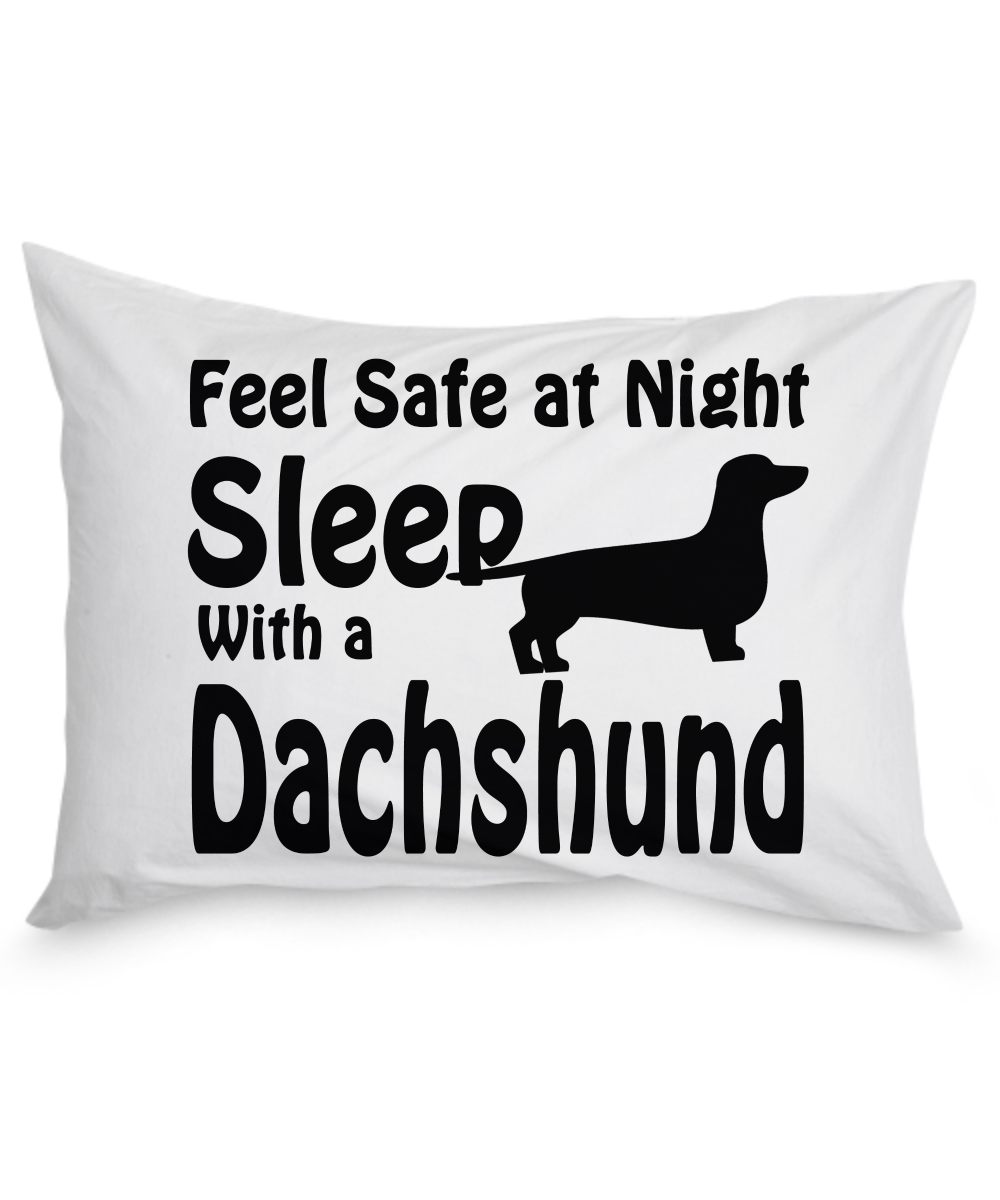 dachshund pillow - front