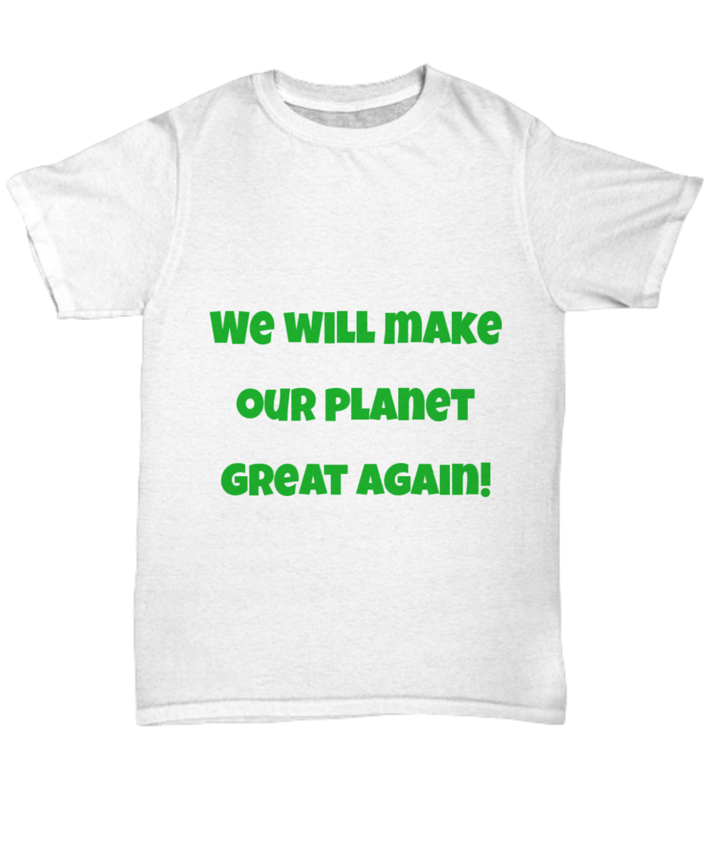 how to make a diy climate change t shirt