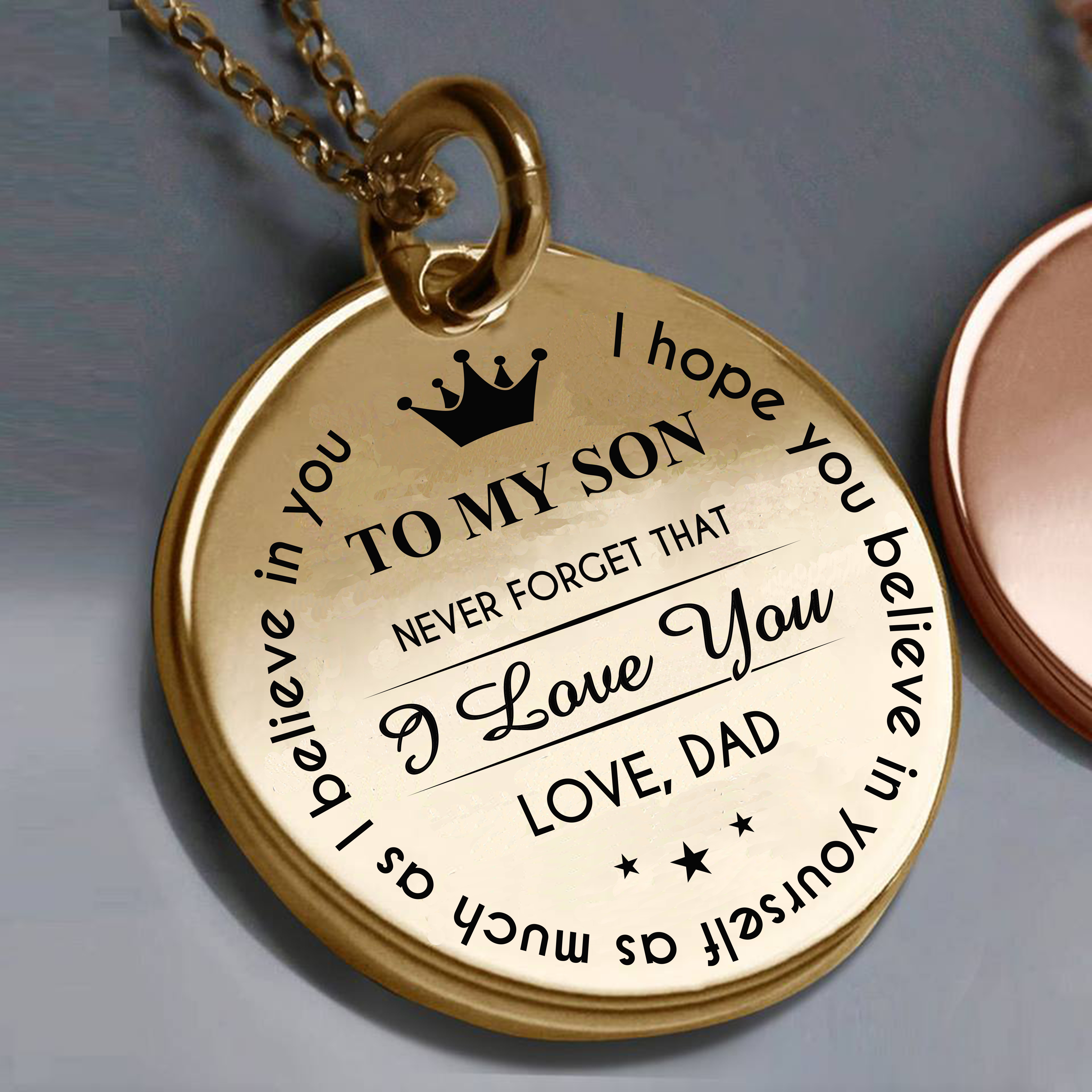 DAD! Perfect Christmas Gift For Your Son (Never Forget That I Love ...
