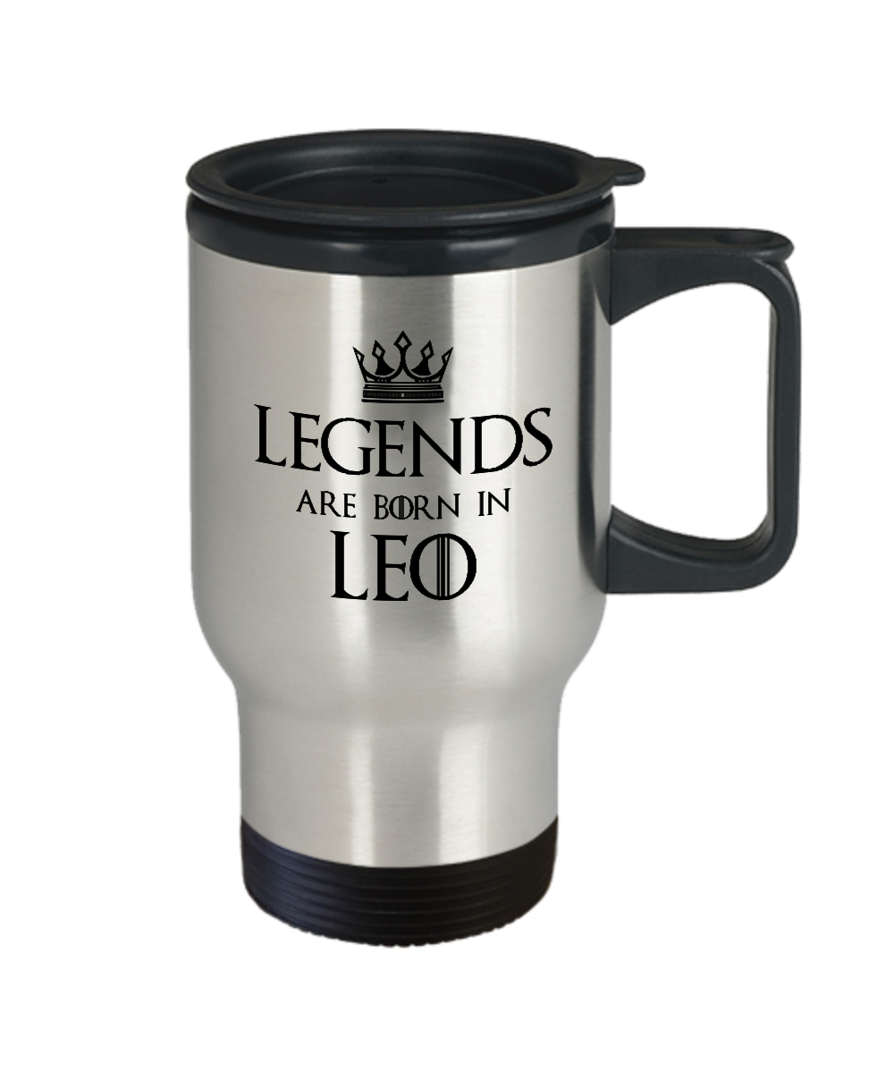 Leo Astrology Gifts For Men Front
