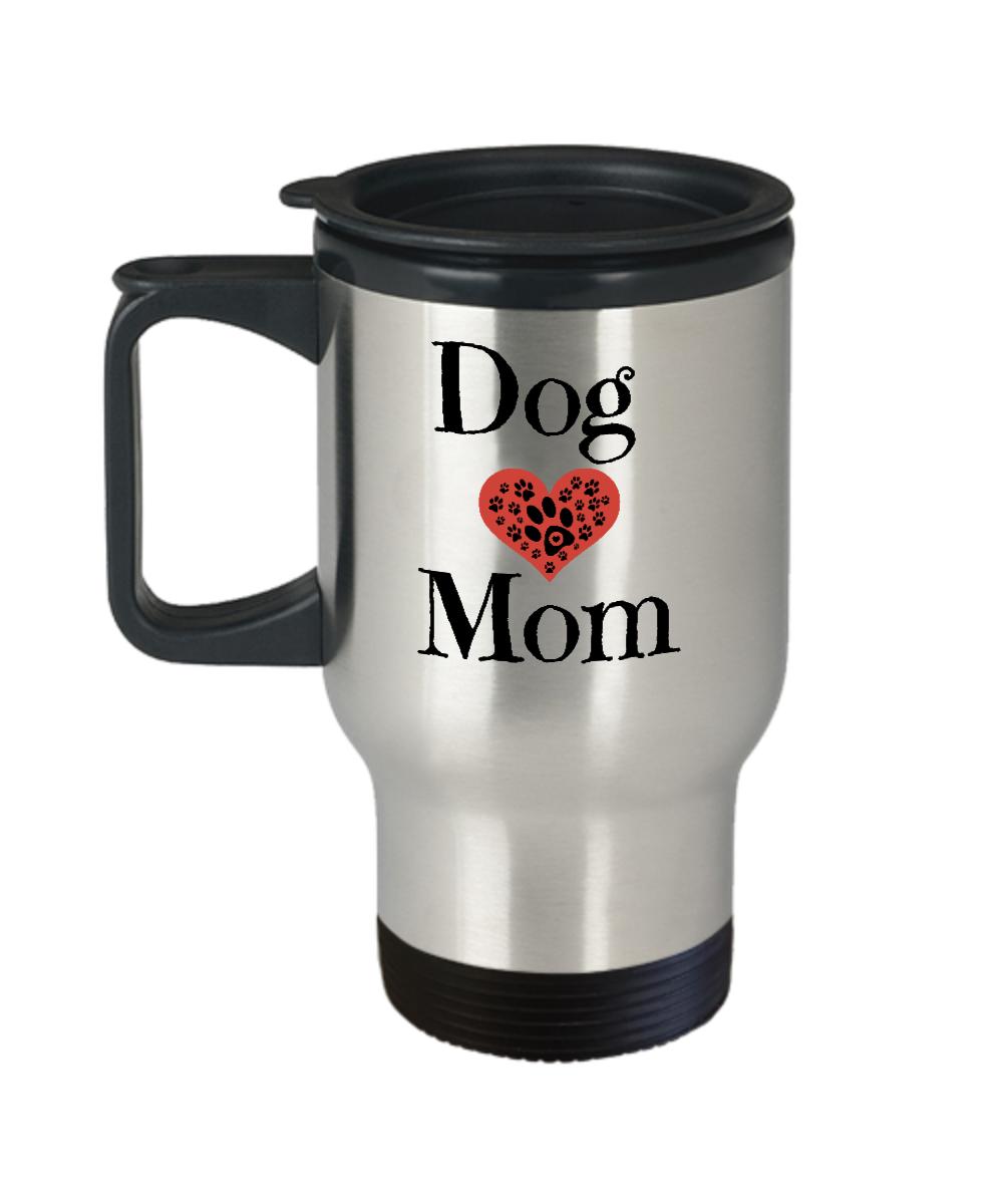 Birthday Gift Rescue Dog Travel Mug Front