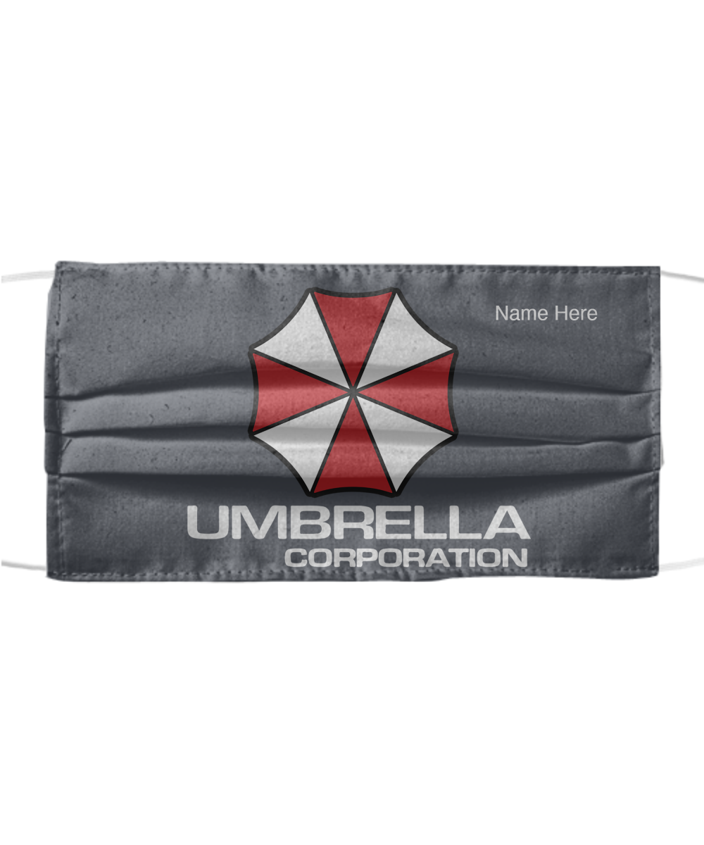 umbrella corporation face mask resident evil at gearbubble