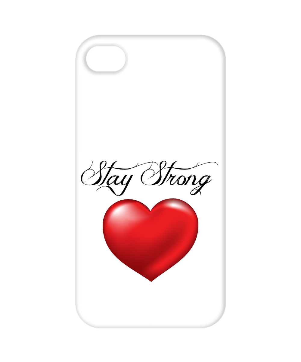 Stay Strong Heart Phone Cover