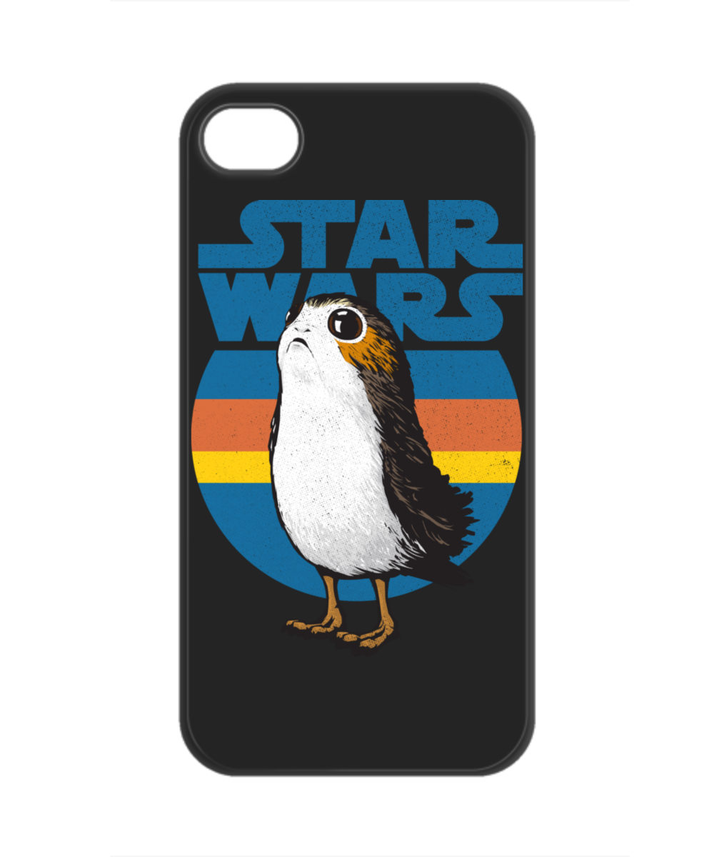 low priced 0c9d5 3901a Porg Retro Phone Case