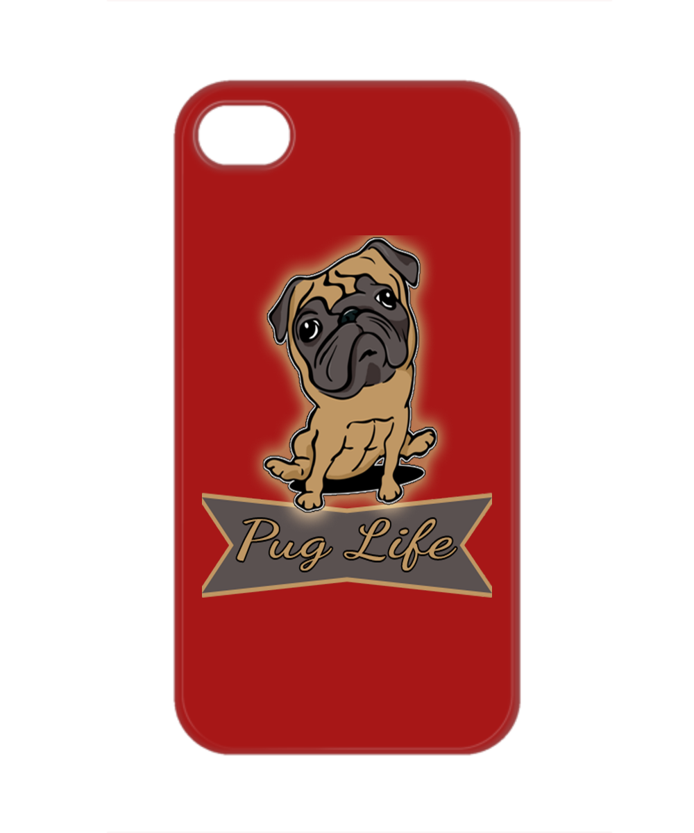superior quality 1b063 00c7f Pug Life Cell Phone Cases