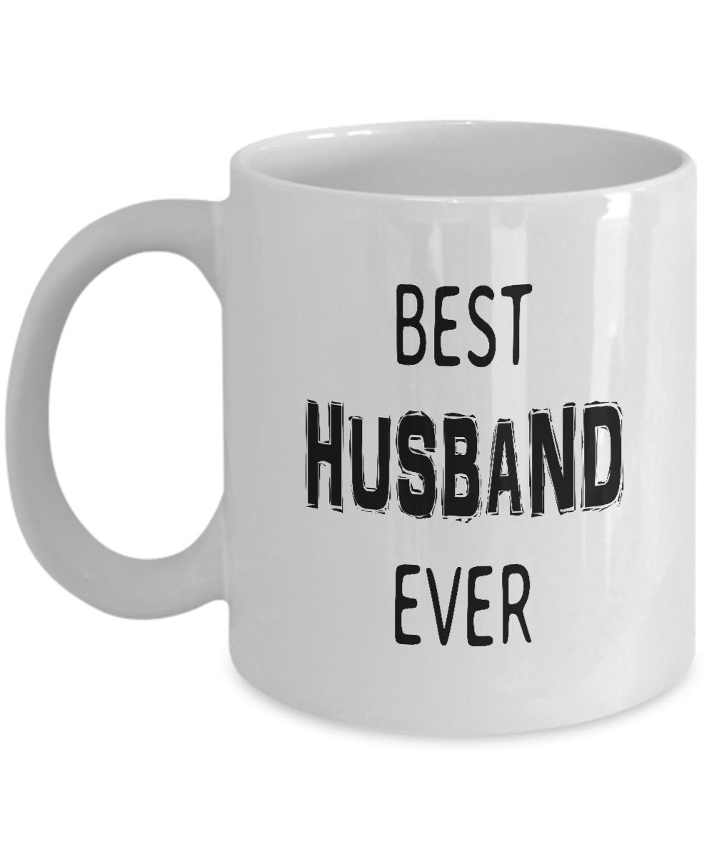 Anniversary Gifts for Husband, Best Husband Ever Coffee Mug