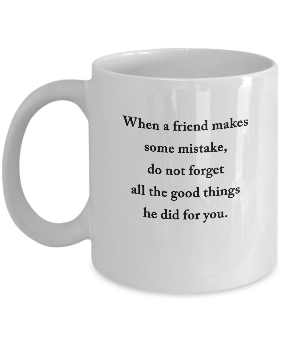 Best Friends Gifts For Women Men 11 Oz Funny Coffee Mugs Friendship Gifts Funny Friend Gifts Friends Coffee Mug Inspirational Gifts And Sarcasm By Happygift