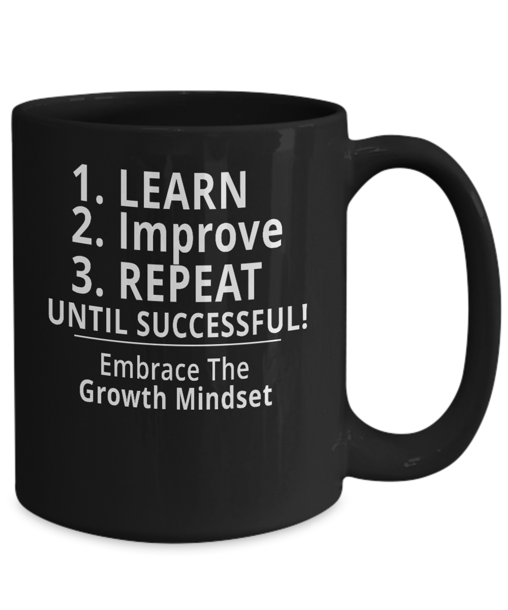 Buy this Exclusive Growth Mindset Success mug for your office today!