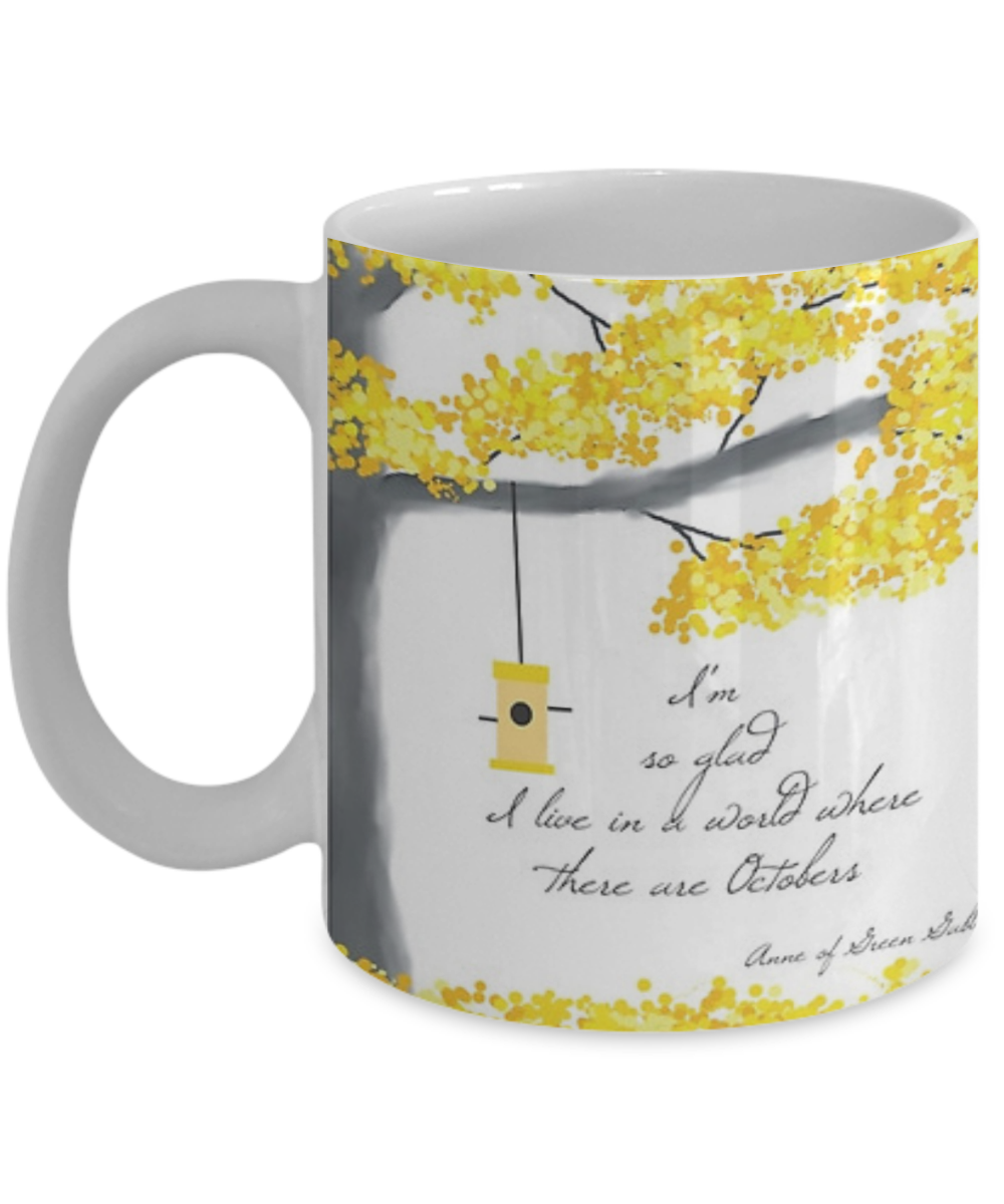 Anne Of Green Gables Coffee Mug Tea Cup Funny Quote