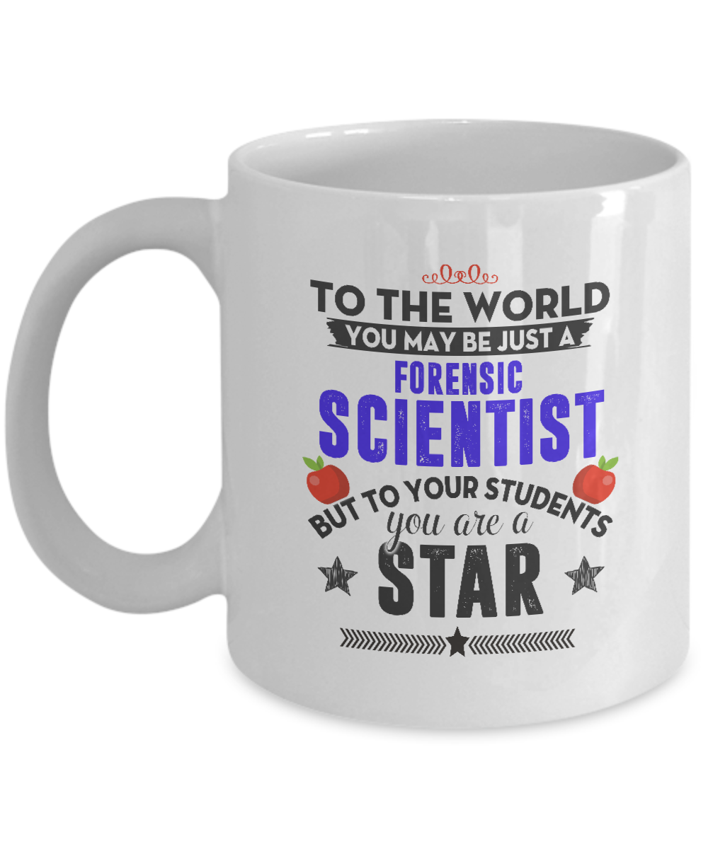 Best Coffee Mugs Gift Mugs Forensic Scientist Gifts Gifts For Men Woman Friends Birthday Christmas Gifts 11oz Ceramic White By Azmugs H7
