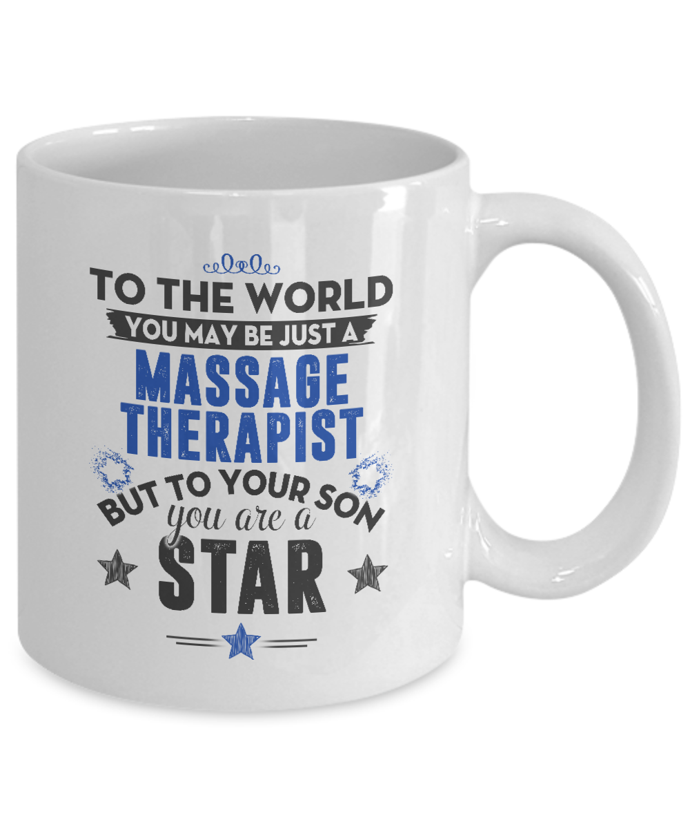 You May Just A Massage Therapist But To Your Son You Are A Star