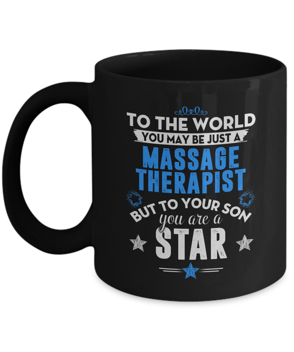 Mom Dad Gifts From Son - You May Just A Massage Therapist But To