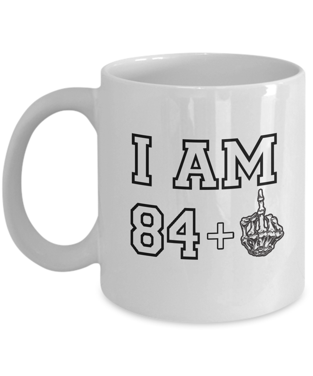 Happy 85th Birthday Mug 1932 Middle Finger