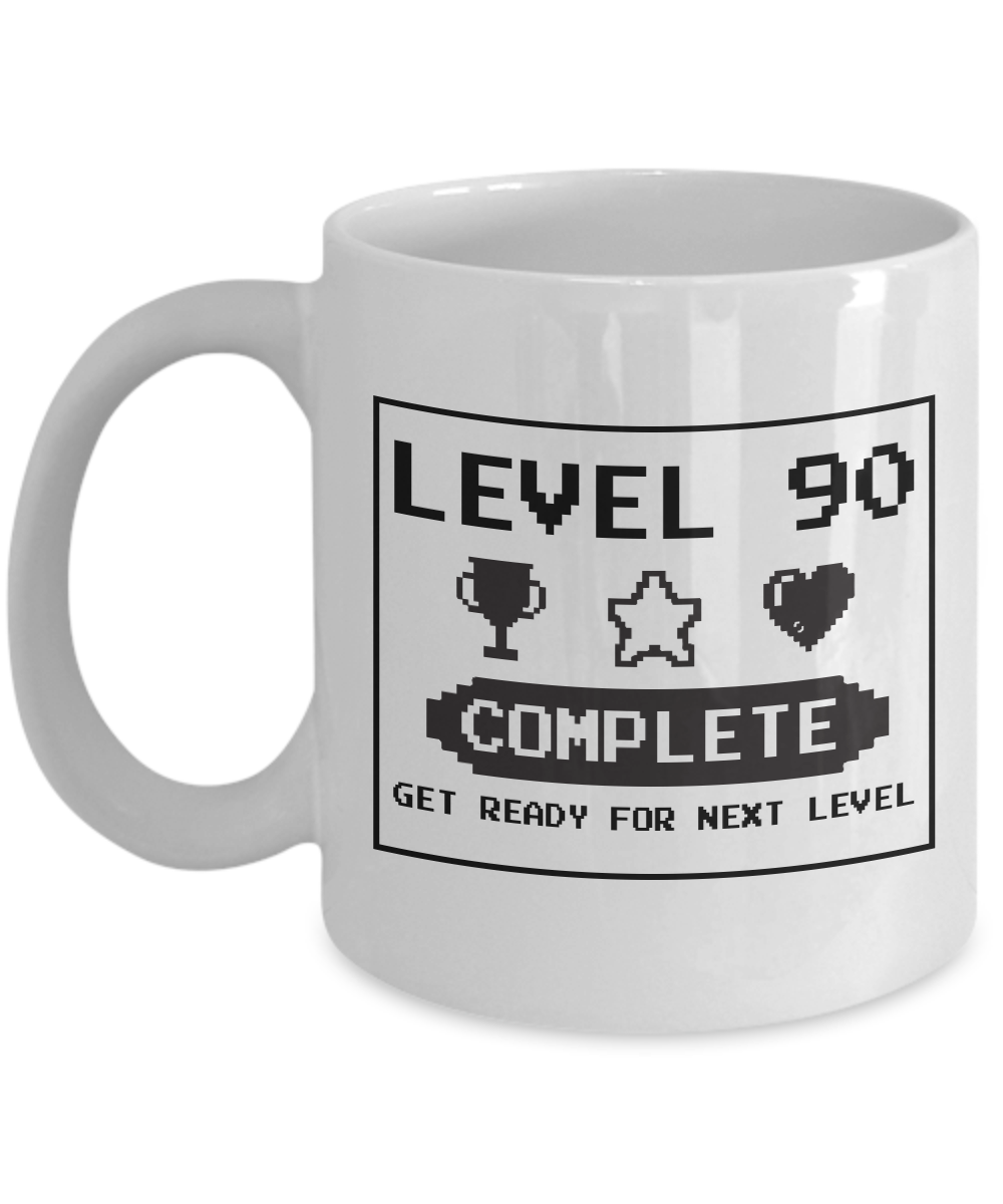 Happy 90th Birthday Mug Gaming Geek 1927