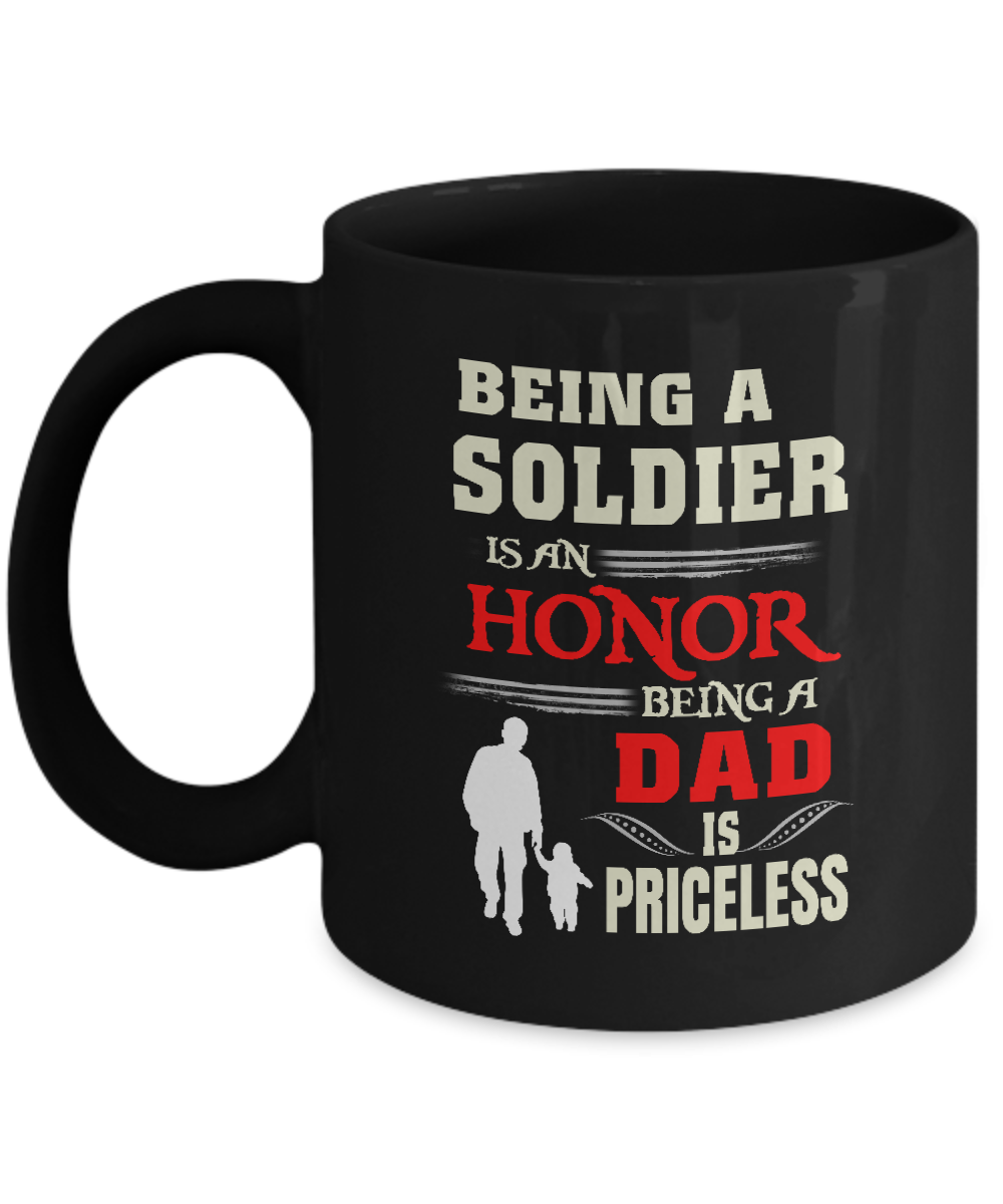 Dad Mugs From Daughter Colorful Birthday Gifts Being A