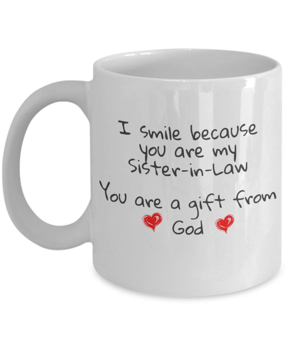 Novelty Birthday Gifts Inspirational Saying I Smile Because You Are My
