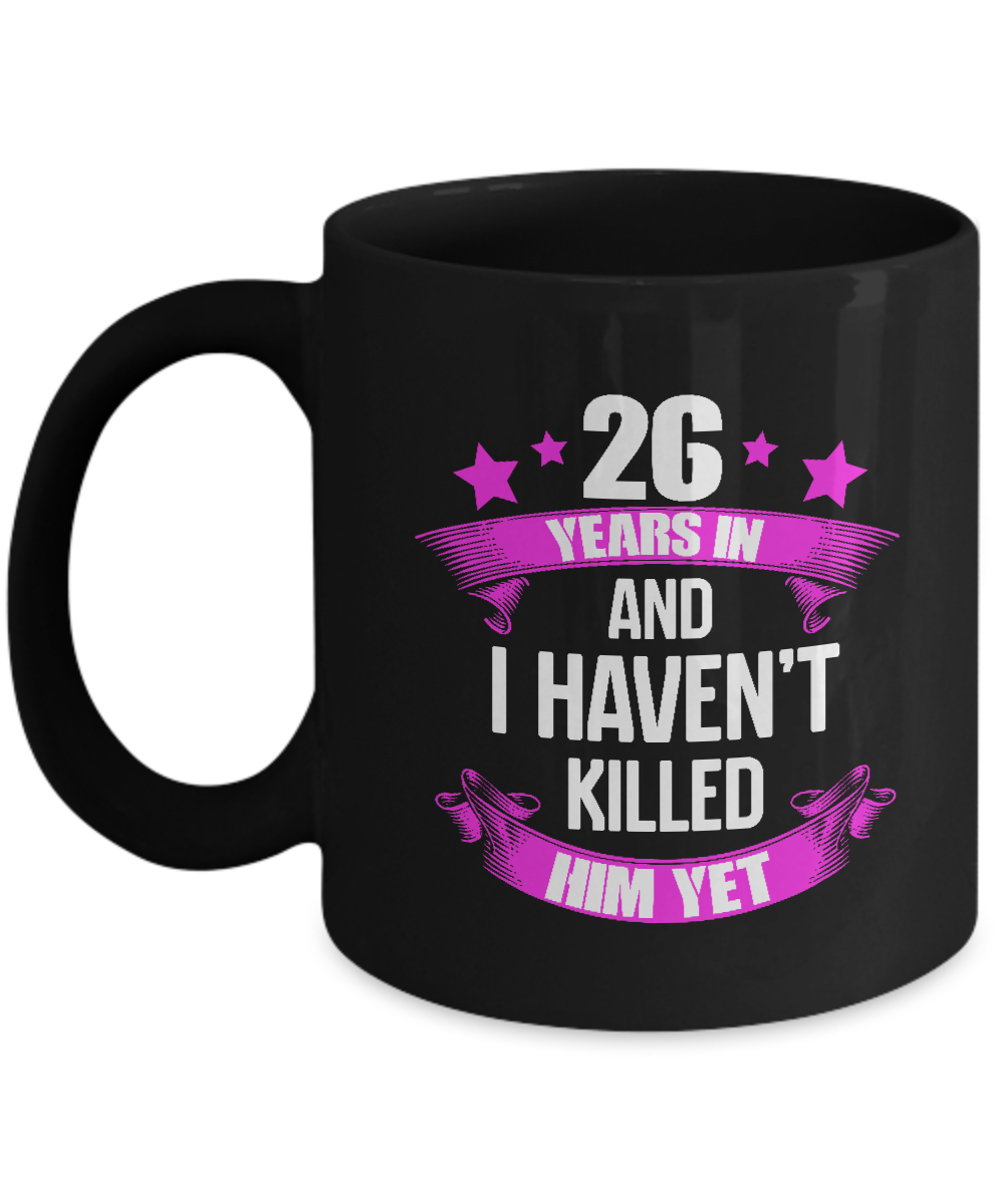 20 Year Wedding Anniversary Gift For Wife: Funny 26 Years Wedding Anniversary Gifts For Wife. Funny