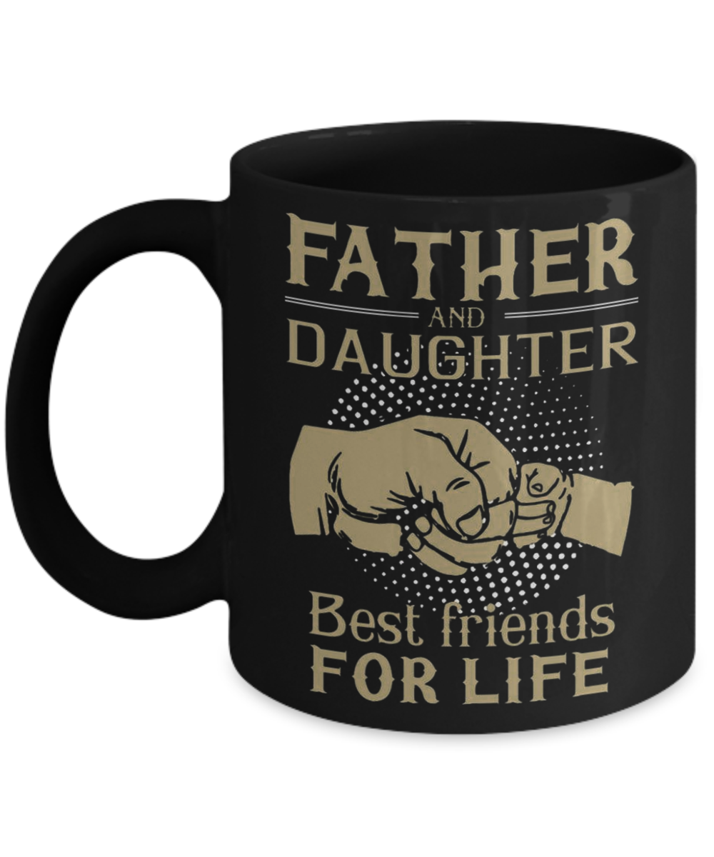 901b846f47 Father & Daughter Best Friend For Life T-shirt, Father T-Shirt, Father's Day.  Front
