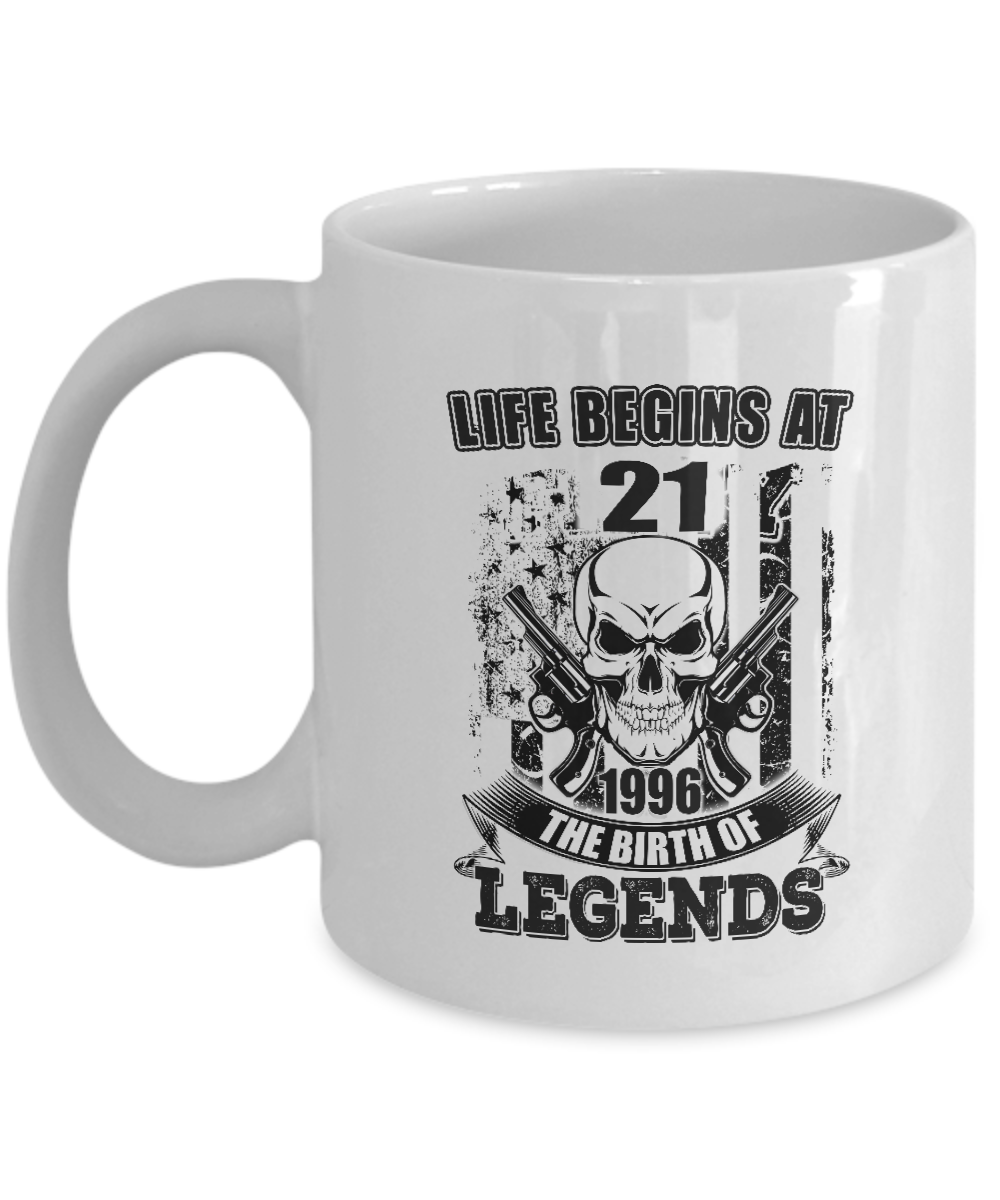 Coffee Mugs Life Beings At 1996 The Birth Of Legends Gift For Men