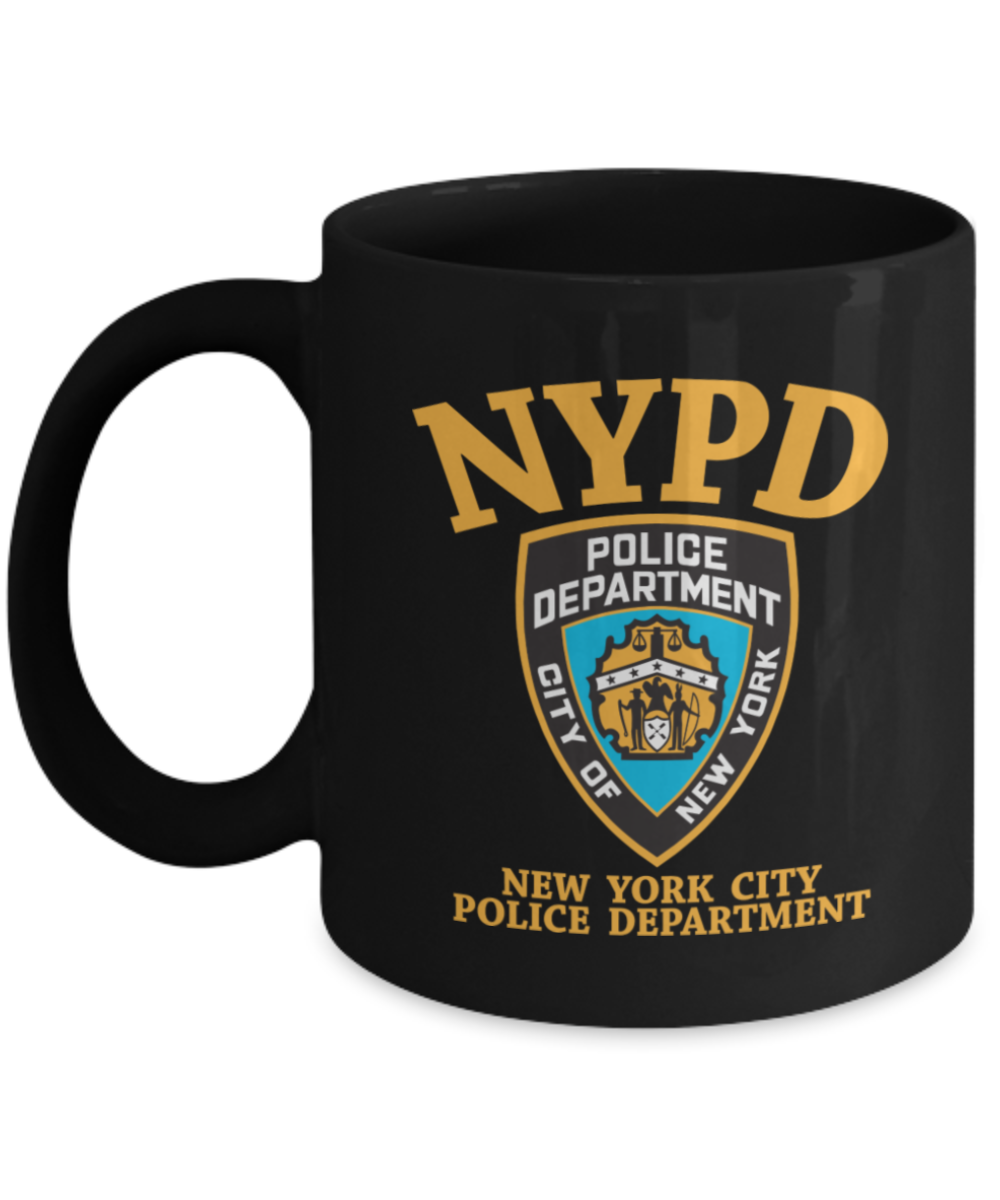 Police coffee mug new york city police department for Gifts for new yorkers