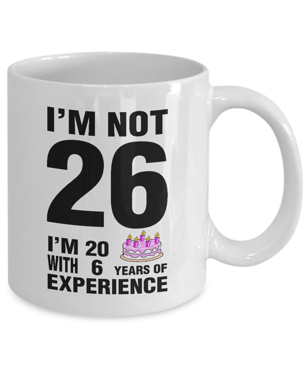 I'm Not 26 I'm 20 With 6 Years