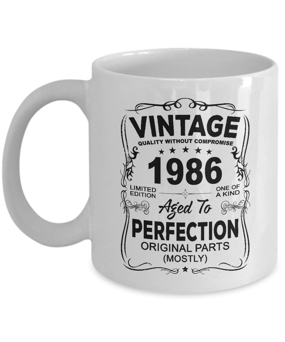 Vintage 1986 Coffee Mug
