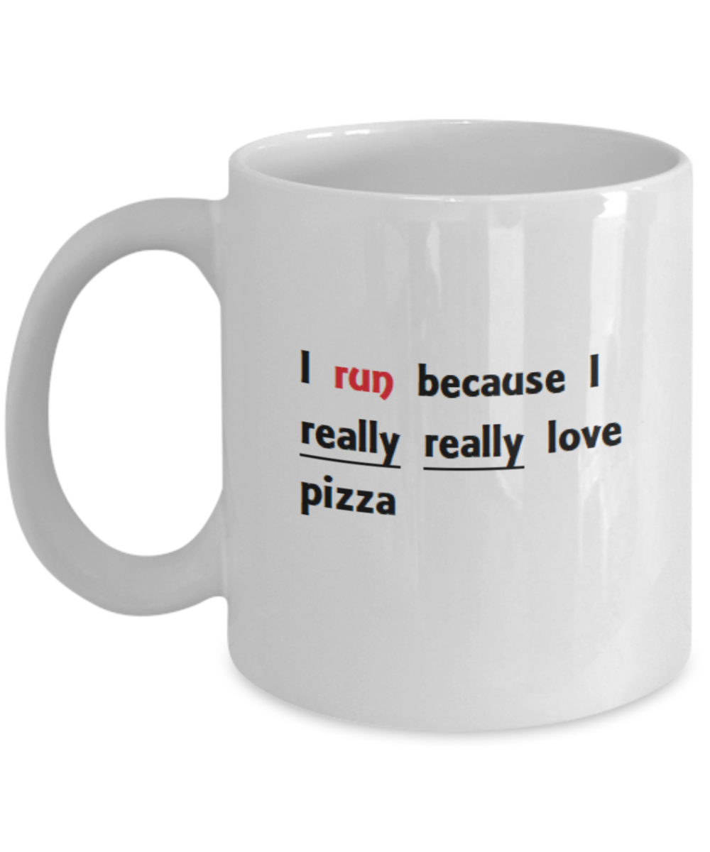 Funny Runner Coffee Mug