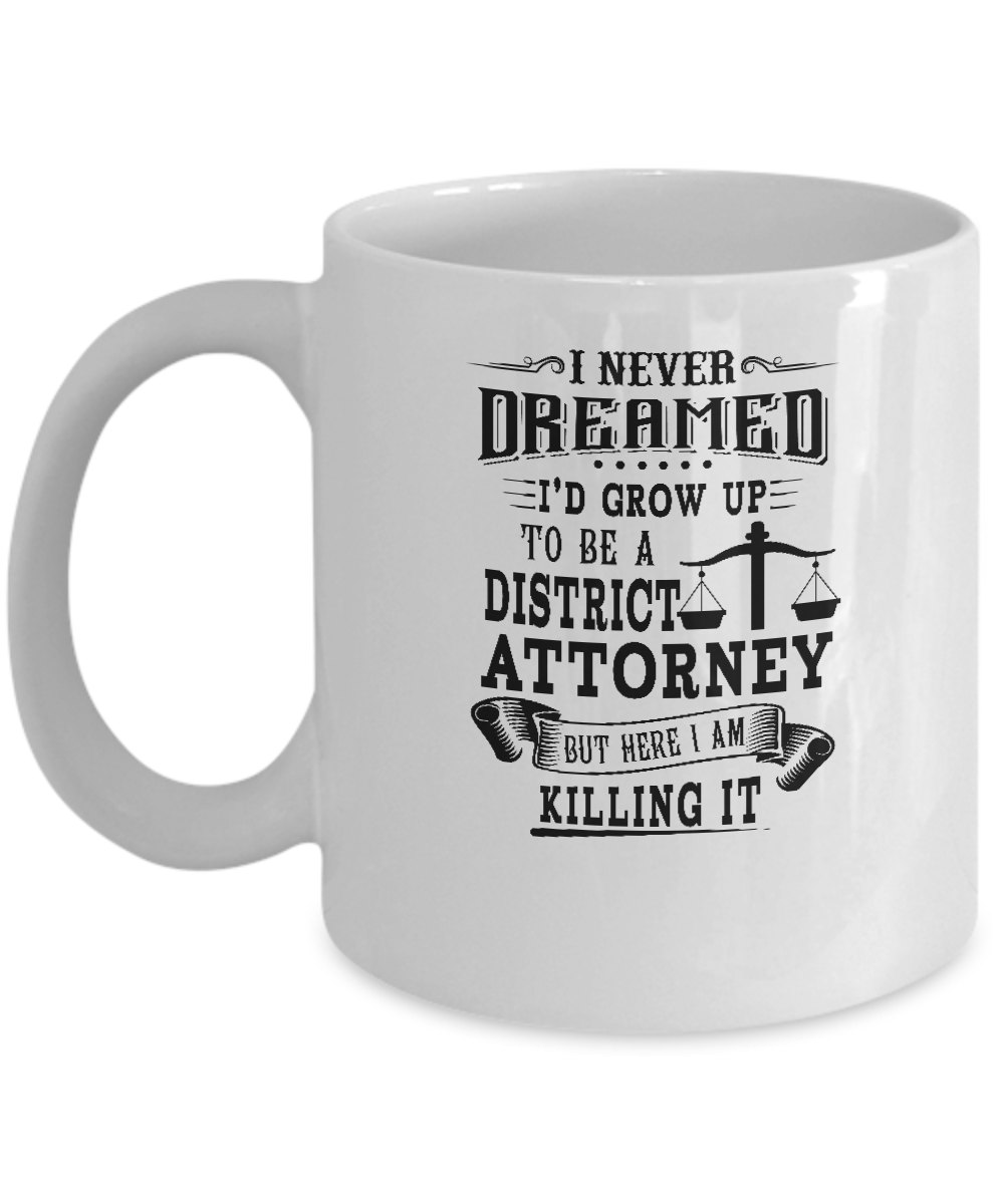 District Attorney Lawyer Coffee Mug-Gifts For District Attorney ...
