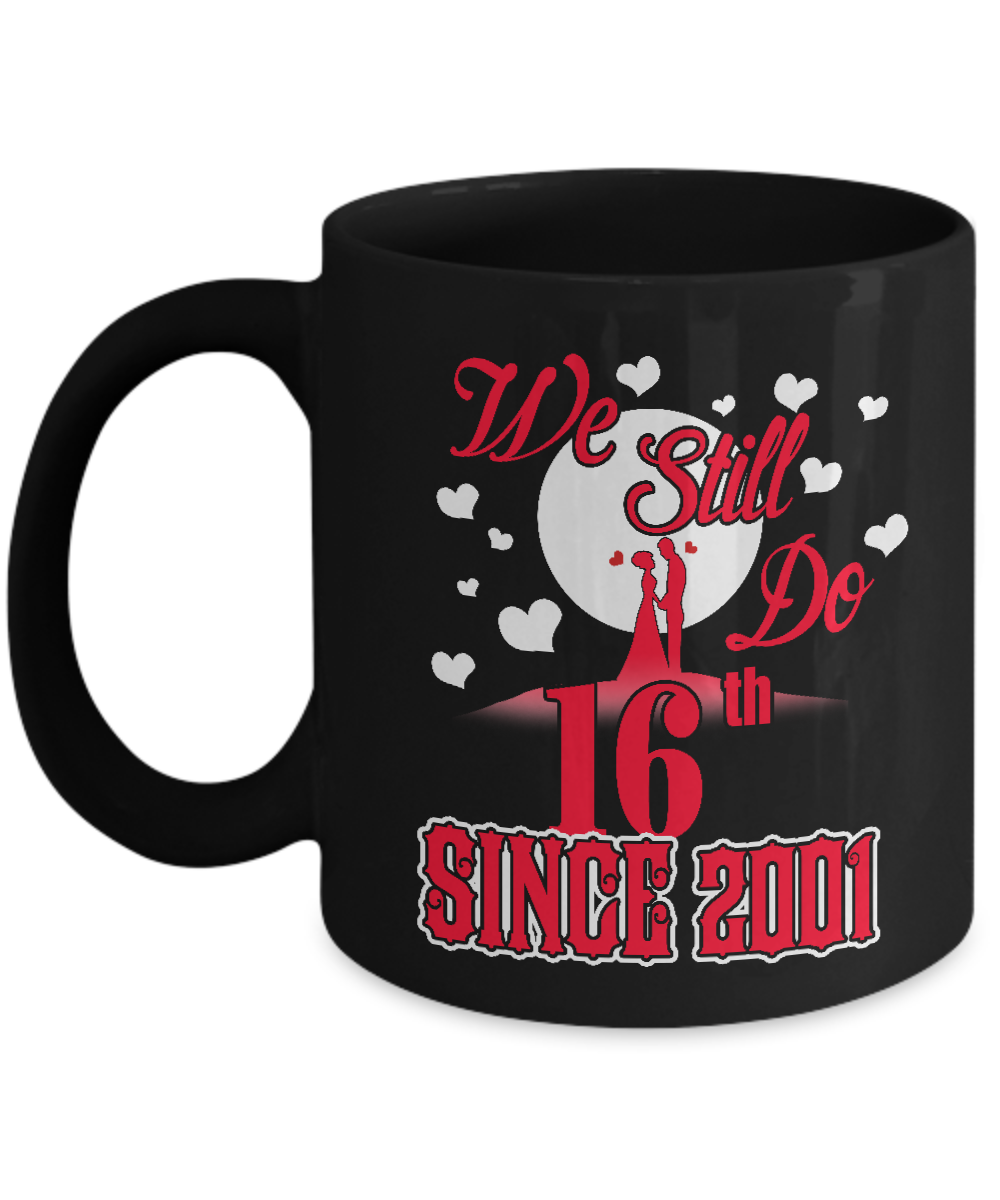 16th Wedding Anniversary Gift Ideas For Her: Wedding Anniversary Mugs. Amazing 16th Wedding Anniversary
