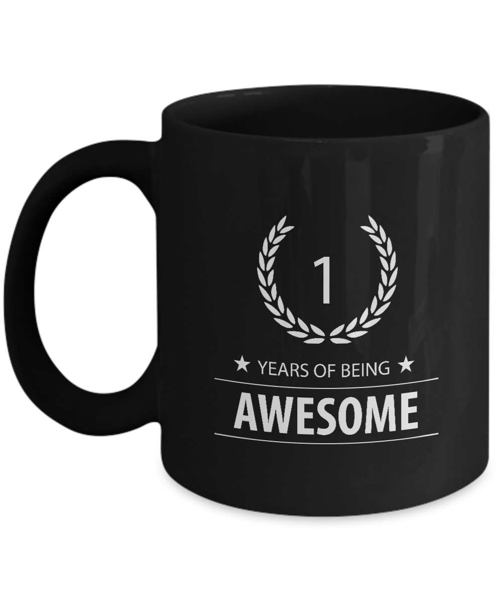 Cool 1st Birthday Gifts Mug For Children 1st Years Of Being