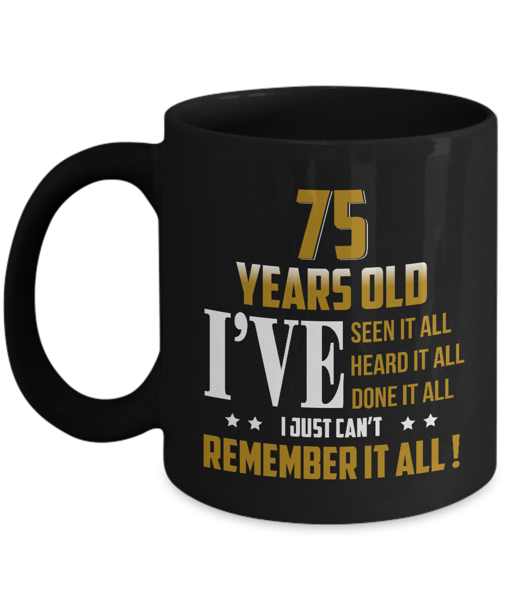 75th Birthday Gifts For Men Women Awesome Mug Party Gearbubble Campaign