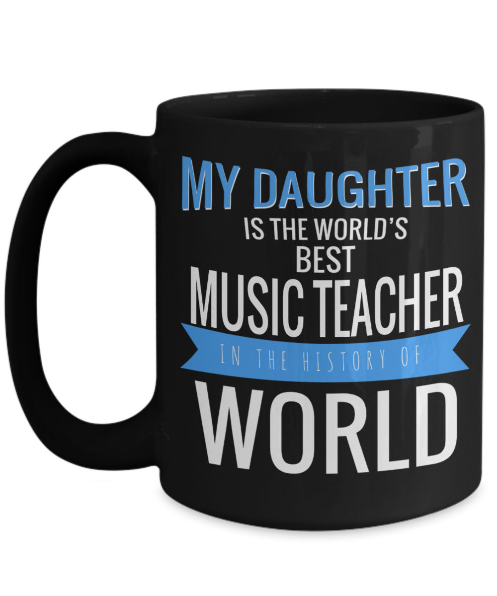 Music Teacher Mug 15oz Music Teacher Coffee Mug Best