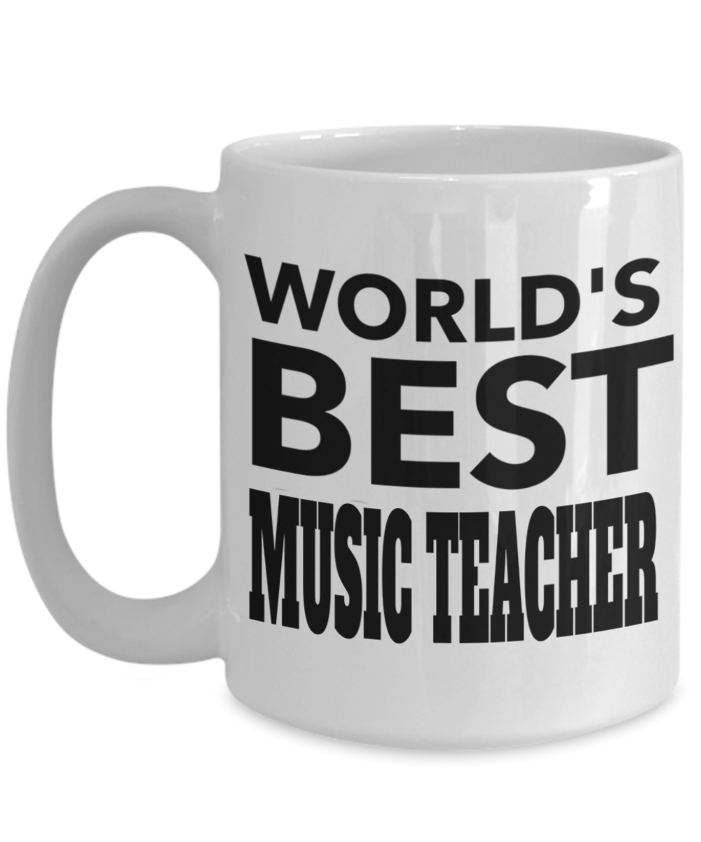 Music Teacher Mug Teacher Gifts For Christmas Gearbubble