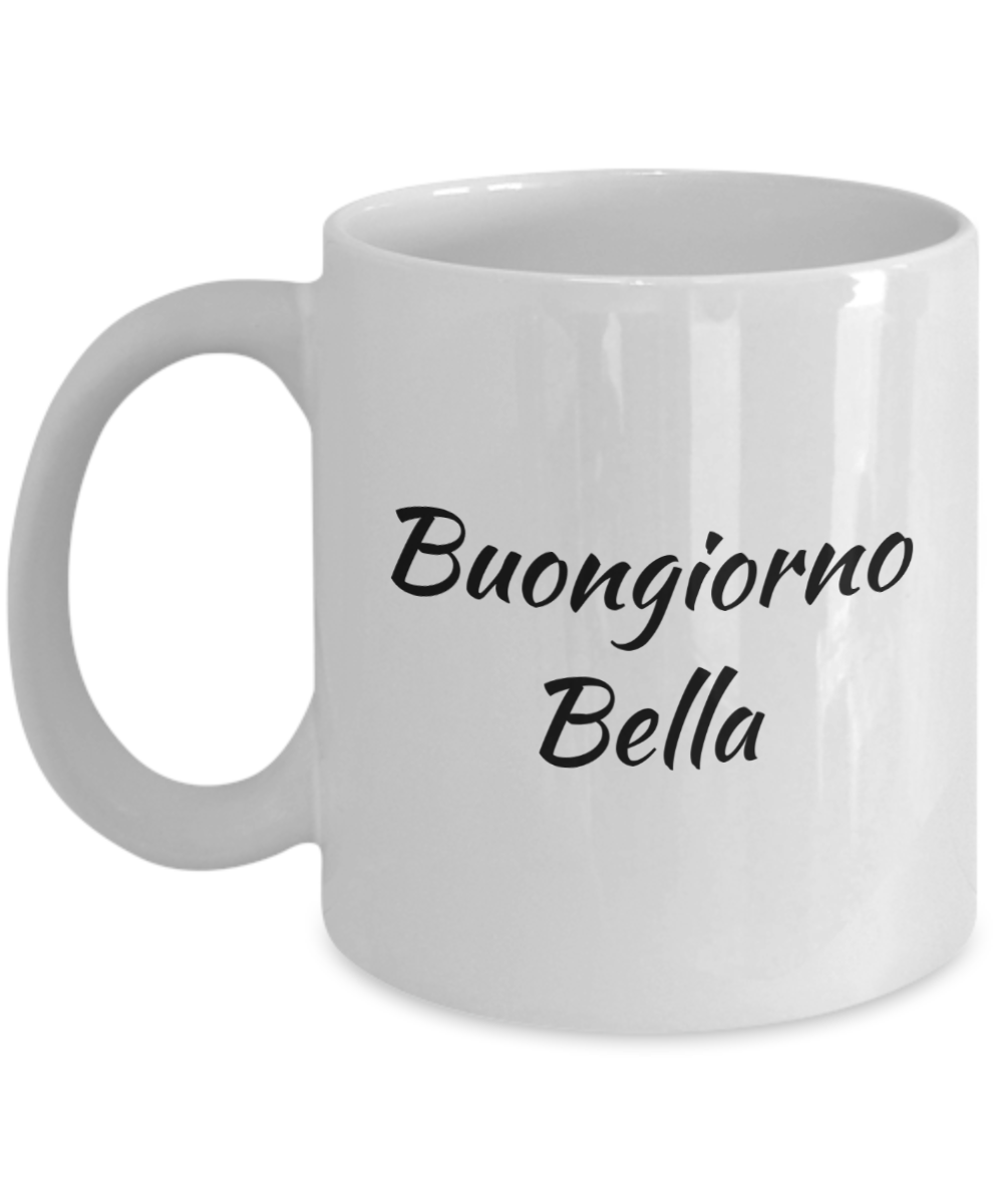 how to say morning in italian